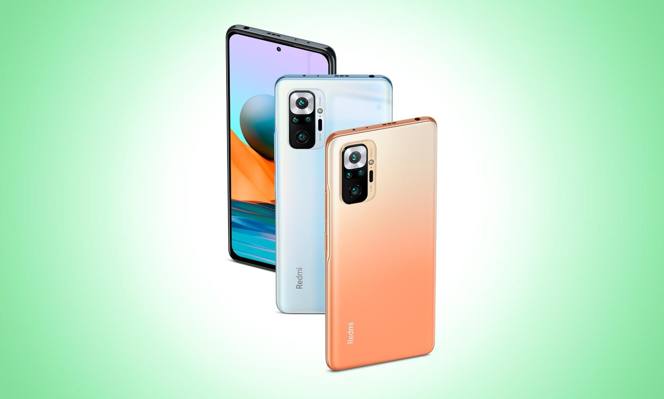 What's new for the Redmi Note 10 Pro
